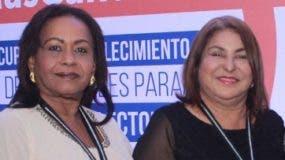 Alicia Miroslavia Martínez y  Francisca Trinidad Jaques.