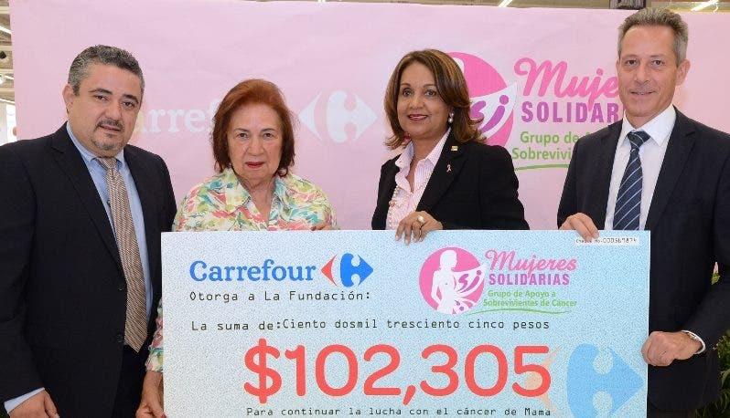 Gerardo García, Yderma Arias, Luisa Ramírez y Olivier Pellin.