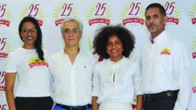 Patricia Rosario, Luigi Bellinello, Nurys González y Aracil Rodríguez.