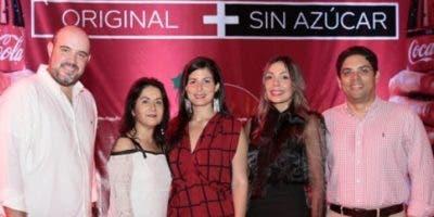 Carlos Ricalde, Diana Martínez, Ivonne Acosta, Patricia Mejía y Juan Amell.