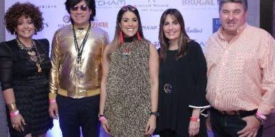 Rebeca García, Leonel Melo, Francesca Ortiz, María del Pilar Díaz y  Chris Campbell.