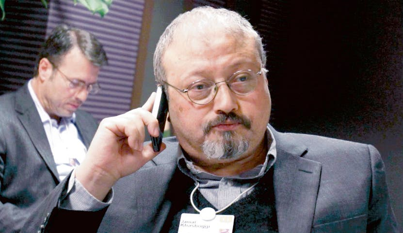 El  periodista Jamal Khashoggi fue asesinado en Estambul.