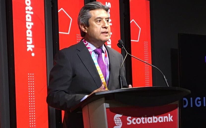 Nacho Deschamps , ejecutivo de Scotiabank. Fuente Externa