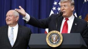 El presidente Donald Trump se concentra en defensa fronteriza y abandona caso de  Siria.