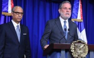 Flavio Darío Espinal y Roberto Rodríguez Marchena.