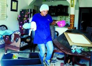 Residentes cercanos a la fábrica perdieron sus ajuares.