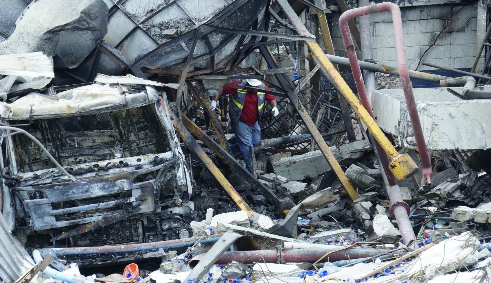 En informe de los bomberos se indica que escape de gas originó la explosión en Polyplas