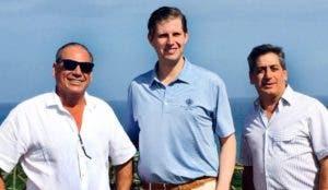 Erick Trump, hijo de Donald Trump, visitó Cap Cana en febrero pasado y se reunió con los promotores. Archivo