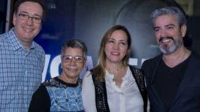 Carlos Acero Ruiz, Mayra Johnson, Carmen Inés Bencosme y Carlos Zabala.