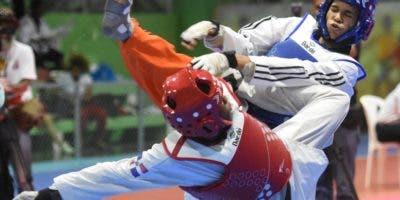 Carlos Peralta durante uno de sus combates. Alberto Calvo.