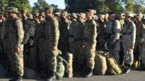 Militares iniciaron ejercicios académicos para reforzar la vigilancia fronteriza.  fuente externa