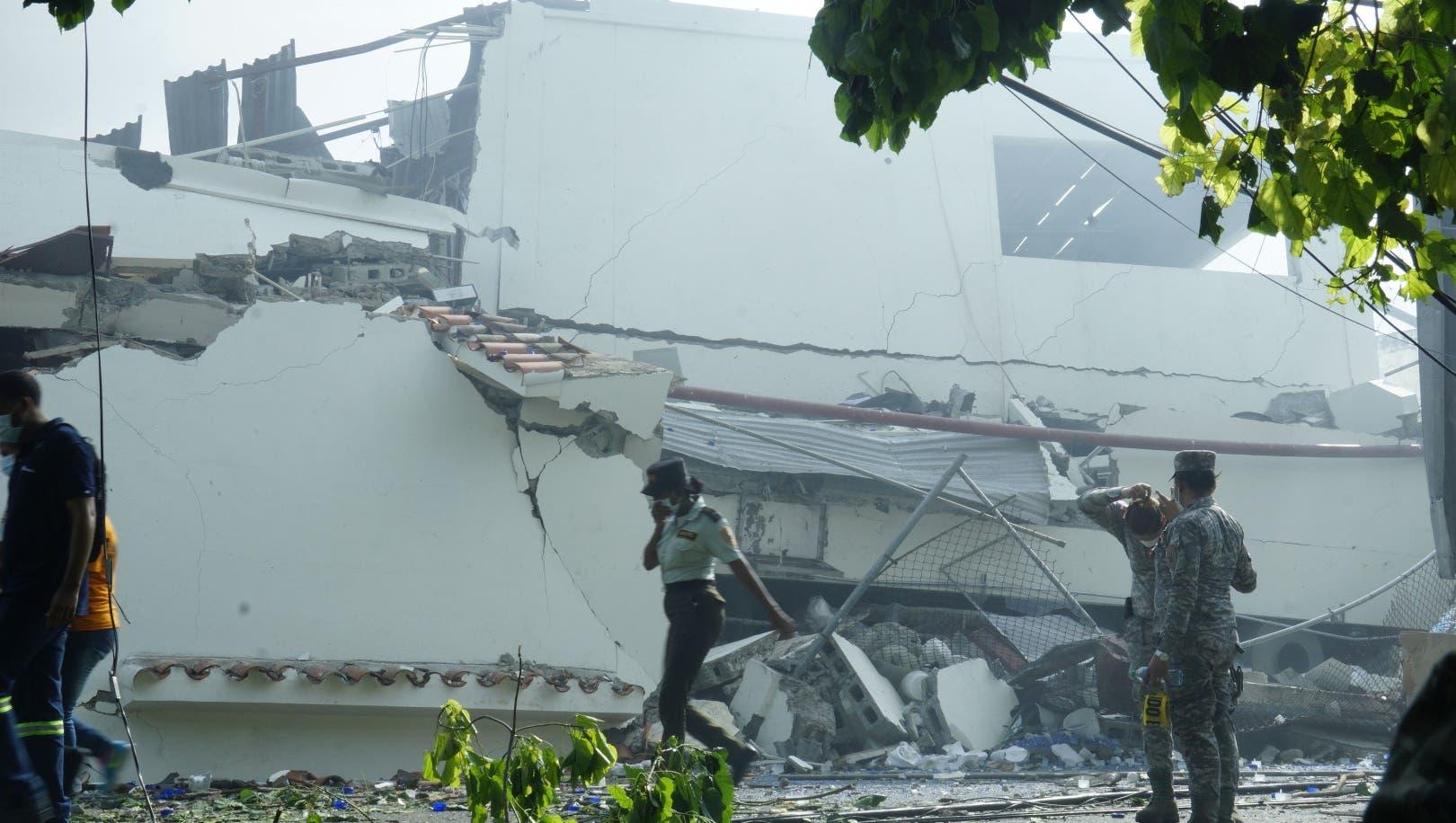 Una explosión se registra en una fábrica de plásticos en Santo Domingo