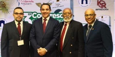 Robert Miranda,  Pablo Mateo,  Wilson Roa y Luis Jiménez.
