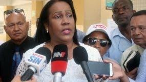 Xiomara  Guante, presidenta de la ADP.   fuente externa