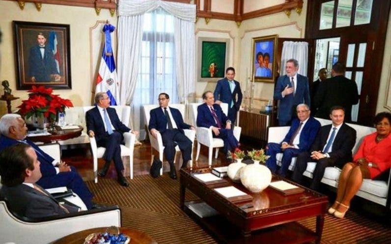 Miembros del Consejo Nacional de la Magistratura.archivo.