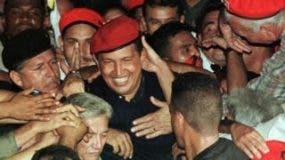 Chávez obtuvo un apoyo masivo en las elecciones de 1998.