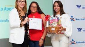 Patricia Alvarez, Ramona Aguilera Torres y Lariza Almanzar.