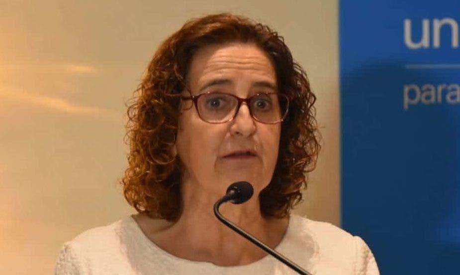 Rosa Elcarte  de Unicef.