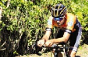 Wellinton Carela fue el más destacado en el ciclismo.