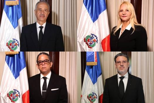 Los cuatro nuevos jueces del TC