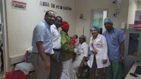 La menor de un mes y dos días de nacida está en condiciones estables y ya se encuentra nuevamente en el Hospital Regional Docente Juan Pablo Pina.
