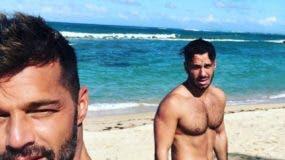 Ricky Martin y su esposo Jwan en Puerto Rico. Foto: Ricky Martin/Instagram