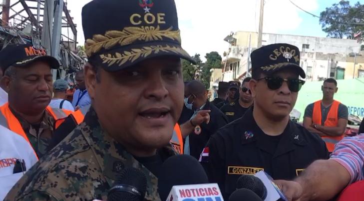 Director del COE dice no hay familiares reclamando por personas desaparecidas en Polyplas