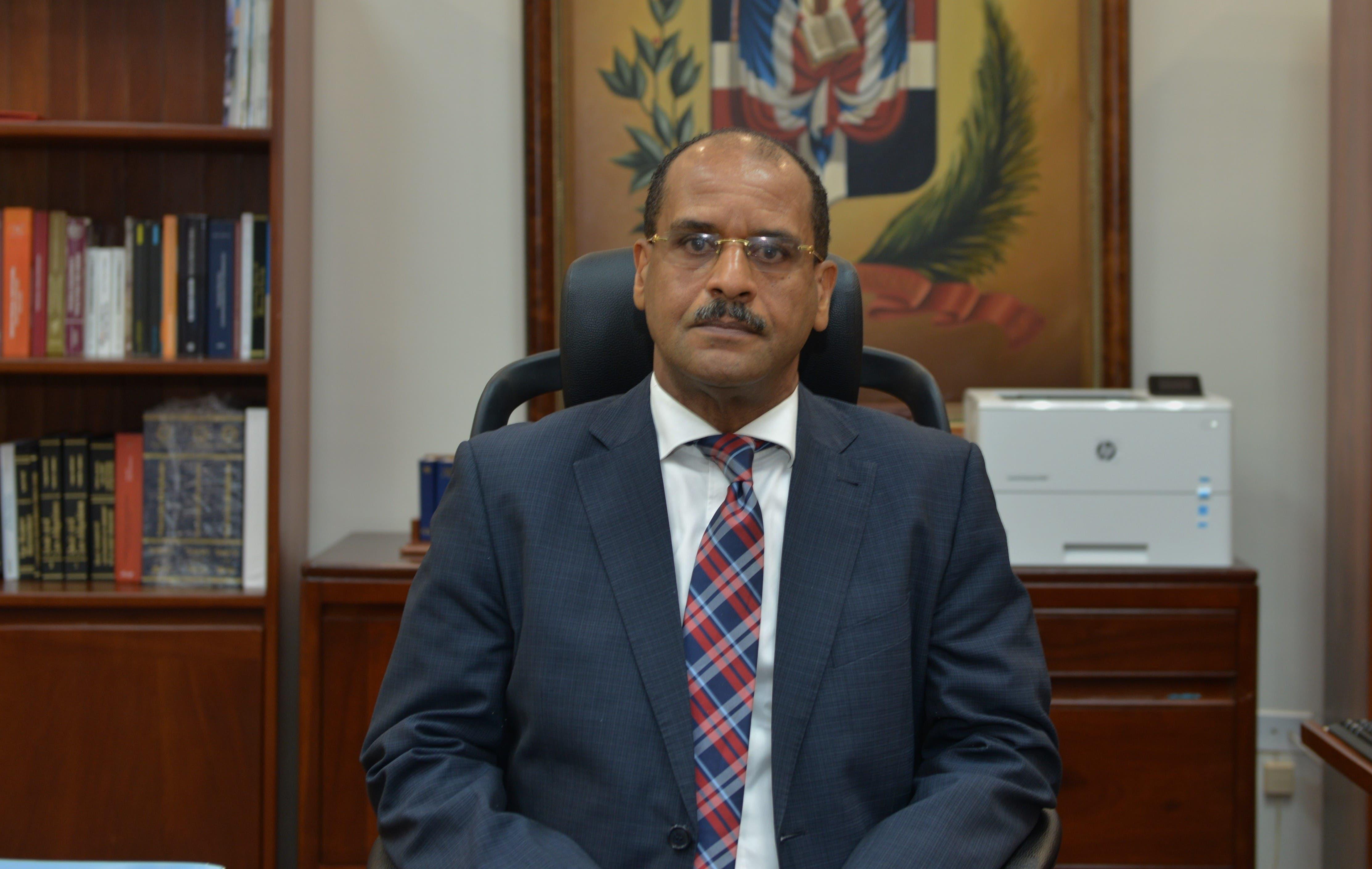 Justiniano Montero Montero, presidente de la Cámara Civil y Comercial de la Corte de Apelación del Distrito Nacional.