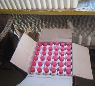 El laboratorio clandestino ¨Fils Paulus¨ estaba dedicado a la fabricación y distribución de la fricción mentolada con Diclofenac ¨BeiconS¨.