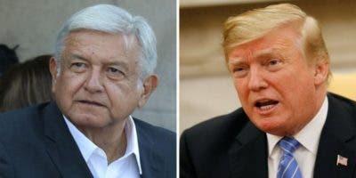 López Obrador y Donald Trump