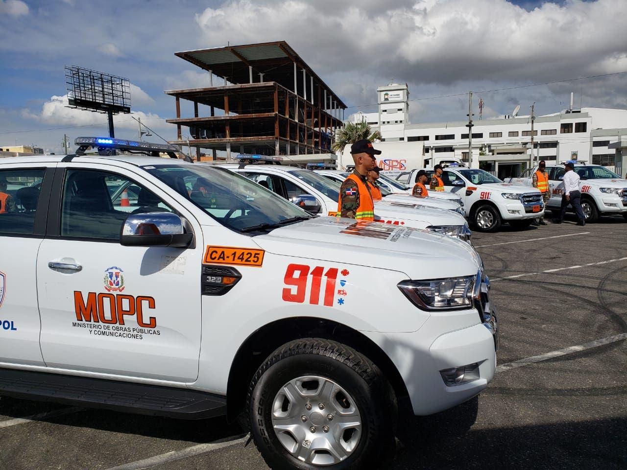 Obras Públicas refuerza  patrullas de programa asistencia vial por festividades