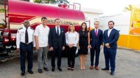 Coronel L.C. José Antonio Segura, Francisco Peña, Carlos José Martí, Rosa Rijo, Alexandra Gartner, Christian Cabral, Carlos José Martí Ramos copy