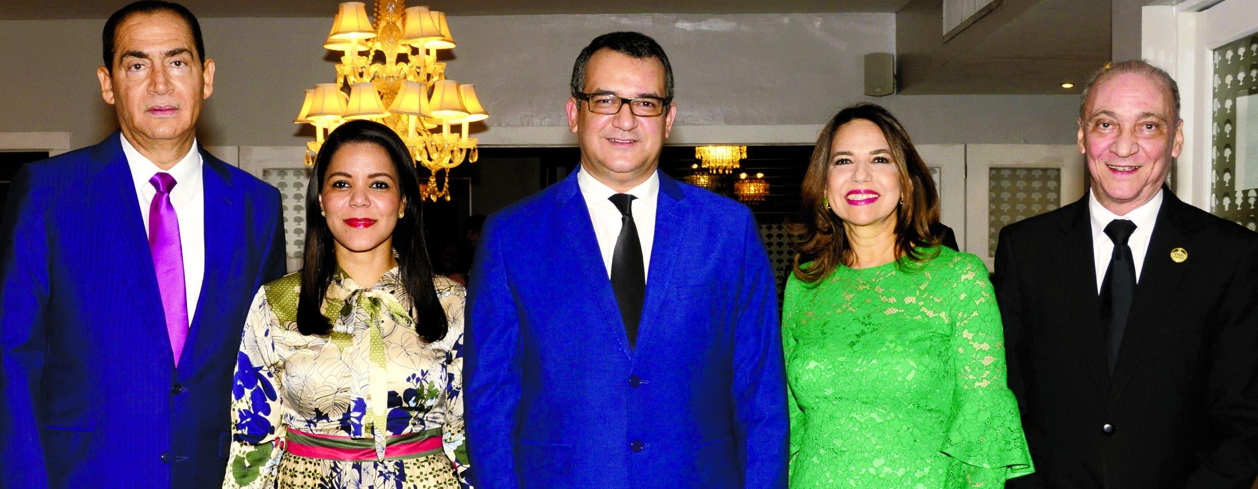 Ramón Arístides Madera, Cristina Perdomo, Ramón Jáquez Liranzo, Rafaelina Peralta  y Santiago Sosa Castillo.
