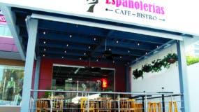 Fachada del restaurante Españolerías, un espacio ideado para pasar gratos momentos.