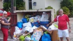 Residentes deploran situación.
