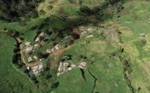 Valle Nuevo tiene una extensión de 910 kilómetros cuadrados.