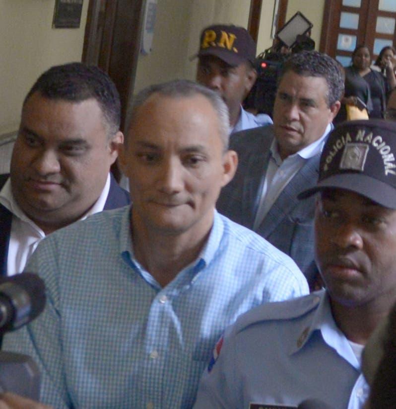 Algunos de los detenidos por acusación de evasión fiscal.