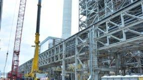 Punta Catalina generará 752 megavatios desde mediados de este año.  Archivo