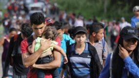 Los migrantes del Triángulo Norte tienen como meta llegar a los Estados Unidos.