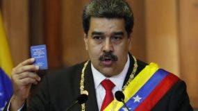 Nicolás Maduro jura en Venezuela   para  segundo mandato.