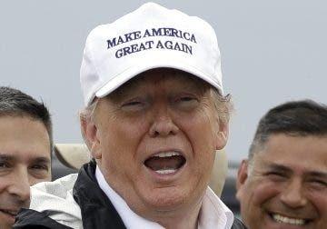 Donald Trump visitó la localidad texana de McAllen.