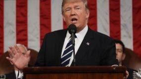 El presidente Donald Trump libra una batalla interna.