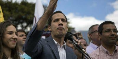 El autoproclamado presidente de Venezuela, Juan Guaidó.