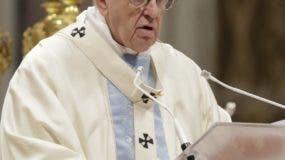 El papa Francisco pidió  que se cultive la paz todos los días.