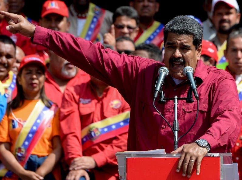 Nicolás  Maduro  juró por un nuevo periodo   el 10 de enero. AFP