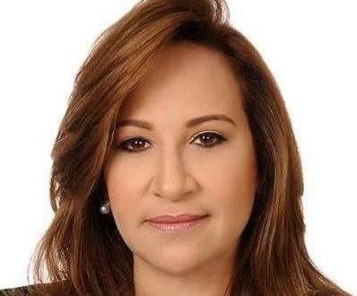 Aura Toribio, directora general de Pasaportes.  archivo