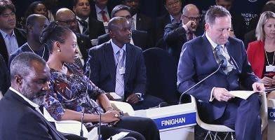 Reunión del Foro Mundial Económico. Archivo
