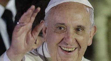 El papa Francisco llega hoy  y presidirá actos en el país.