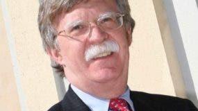 John Bolton, asesor de Seguridad de Donald Trump.