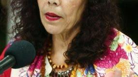La vicepresidenta, Rosario Murillo, promueve la paz.